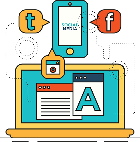 Digital Marketing Agency Professional - social photo